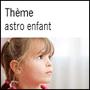 Thème astrologique pour enfant