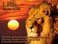 Horoscope du jour Lion